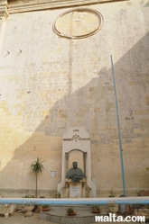 Father G. Zarb Statue in Zabbar