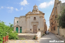 Our Lady of the Abandoned church in Zebbug