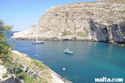 Xlendi valley and cliffs gozo