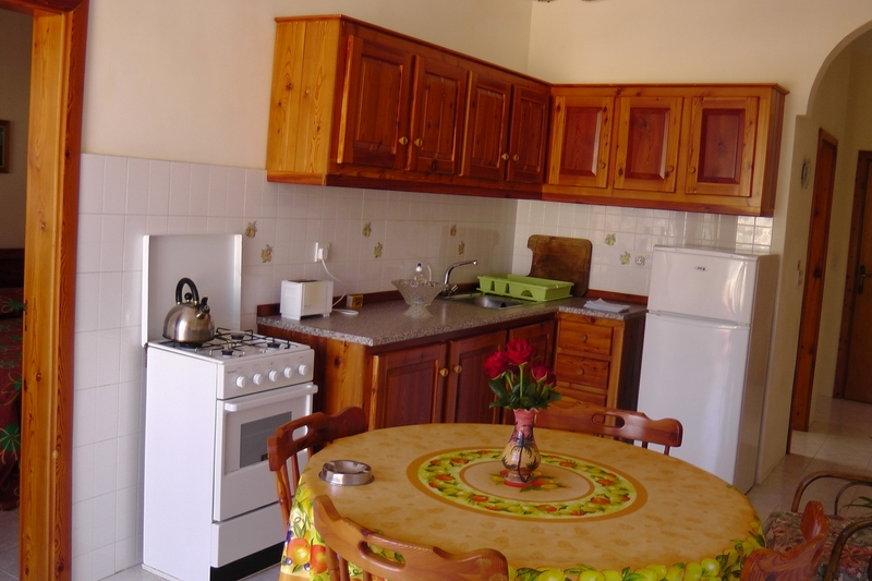 ... Kitchen And Living Area At The Sea Star Apartments Gozo ...
