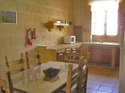 kitchen dining at ta natu farmhouse gozo