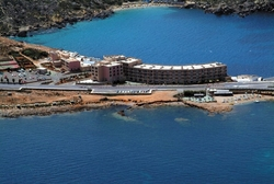 Paradise Bay Hotel Aerial View