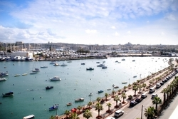 Valletta Harbour View from 115 The Strand