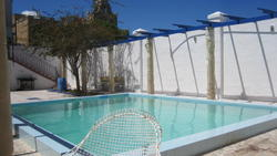 Dunka guesthouse gzira pool and terrace