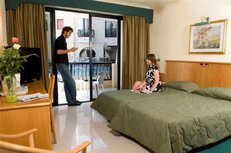 Hotel Room At The Pergola Mellieha