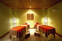 Spa rooms at Kempinski Hotel San Lawrenz