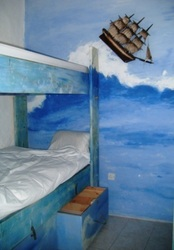 hostel malti st julian's bedroom