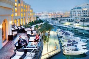 Hotel Hilton Malta Luxury At Your Fingertips The Is A Lavish 5 Star Located Heart Of Fashionable Portomaso Marina In