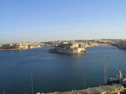 British hotel valletta view