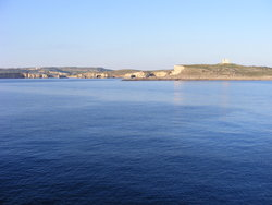 Comino in the distance