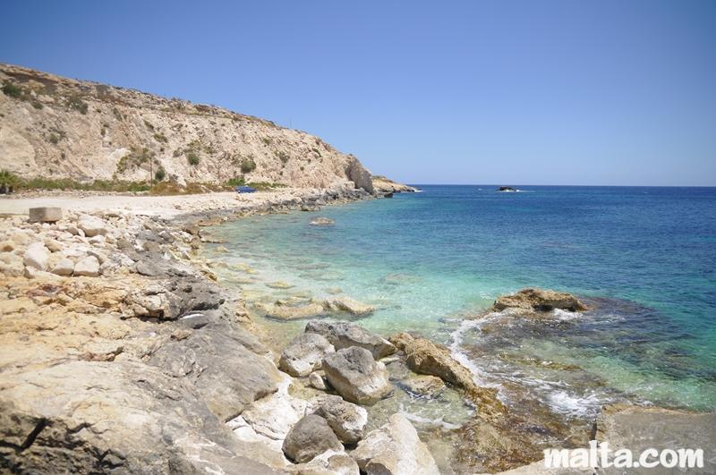 Hondoq Ir Rummien Beach In Qala Gozo