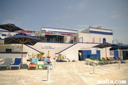 The Ray's Lido Cafeteria in Armier Bay