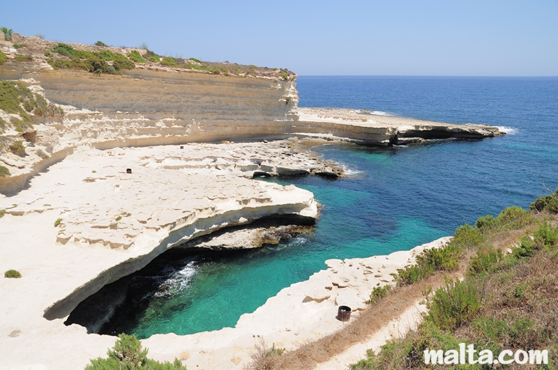 St peter 39 s pool beach in malta for Pool design malta