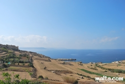 Fort Chambray and Xatt L Ahmar near Mgarr