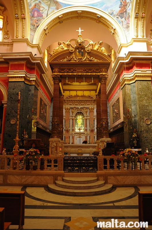 Church Of Our Lady Of Victories Senglea Malta