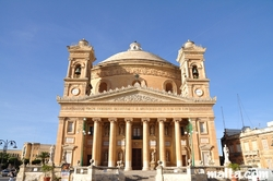 The front of the Mosta Dome