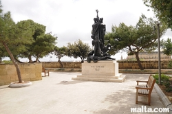 Sette giugno memorial in hastings garden Valletta