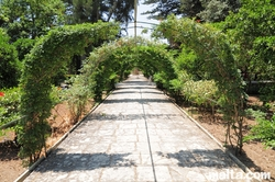 arched path at the St. Anton Gardens Attard