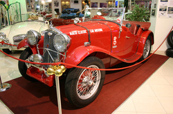 car Models at the malta classical car collection