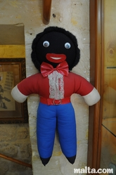 doll at Malta Toy Museum