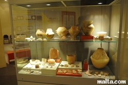 vases and potteries at the National Museum of Archaeology