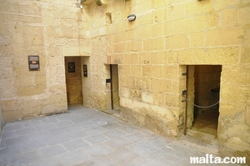 cells of the old prison museum in Gozo