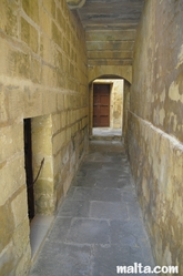 corridor of the old prison museum in Gozo