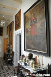 Paintings and Decoration in the Casa Rocca Piccola in Valletta