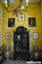 The Chinese Room of the Casa Rocca Piccola in Valletta