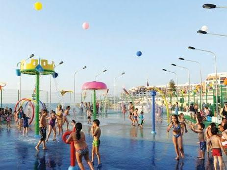 Bugibba Waterpark Amusement Park In Malta