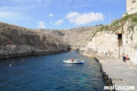 blue grotto harbour