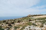 The dingli cliffs and the radar