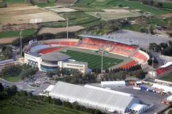 Aerial Picture of National Stadium, Ta' Qali