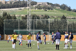 Training at Malta National Stadium