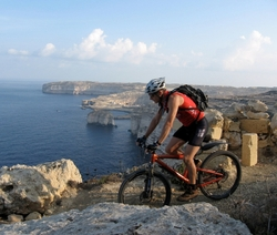 Biking tour gozo