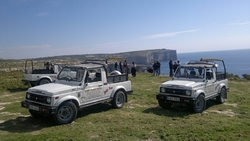 Jeep tour around Gozo