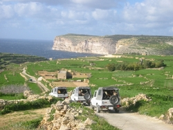 Jeep tour in Gozo