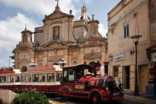 Melita Trains Trackless Trains In Mdina Malta