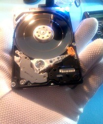 We RECOVER files from faulty Hard Drives