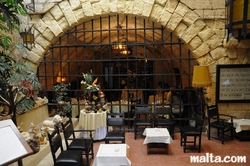 Hall of the Bacchus Restaurant