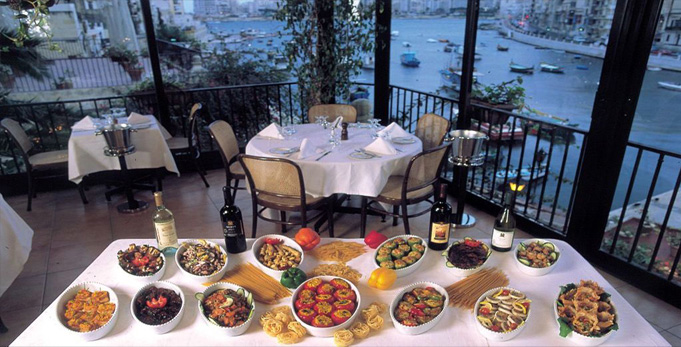 San Giuliano Restaurant Spinola Bay St Julians Malta