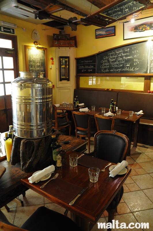 Ambrosia restaurant in valletta malta mediterranean cuisine for Ambrosia mediterranean cuisine