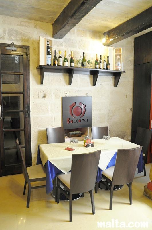 Bocconci restaurant valletta malta italian cuisine