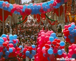 events in Malta - Festas