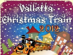 Valletta Christmas Train