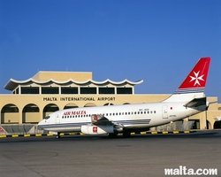 Airport transfer in Malta