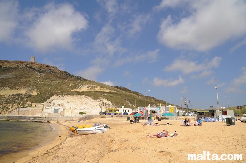 hilton malta beach